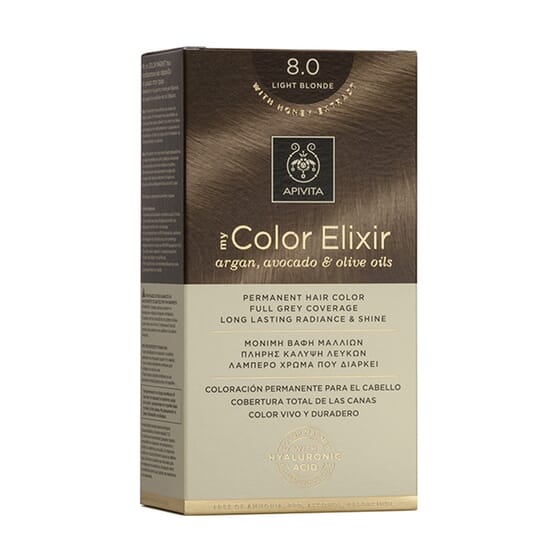 MY COLOR ELIXIR N8.0 LIGHT BLONDE 1Ud de Apivita