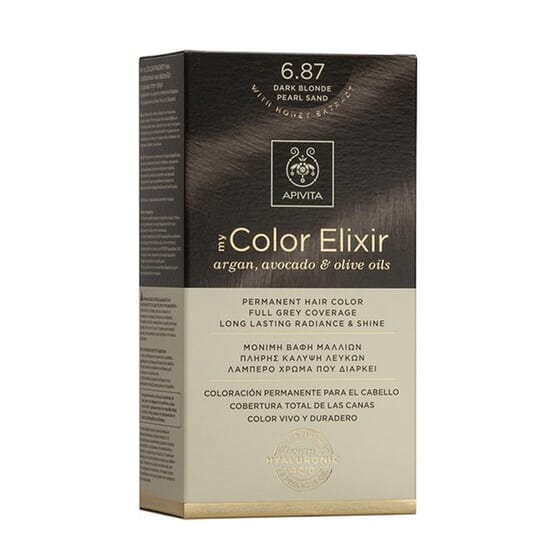 MY COLOR ELIXIR N6.87 DARK BLONDE PEARL SAND 1Ud de Apivita