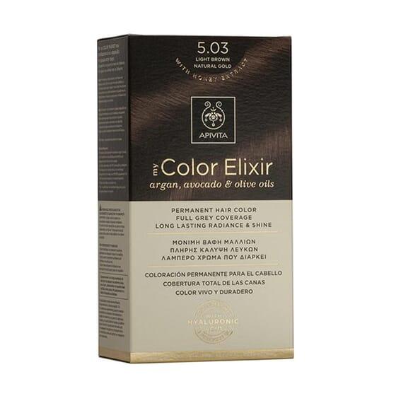 My Color Elisir N5.03 Light Brown Natural Gold 1 Ud de Apivita