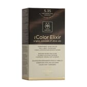 MY COLOR ELIXIR N5.35 LIGHT BROWN GOLD MAHOGANY 1Un de Apivita