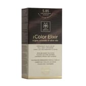 MY COLOR ELIXIR N5.85 LIGHT BROWN PEARL MAHOGANY 1Un da Apivita