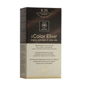 MY COLOR ELIXIR N6.43 DARK BLONDE COPPER GOLD 1Un da Apivita