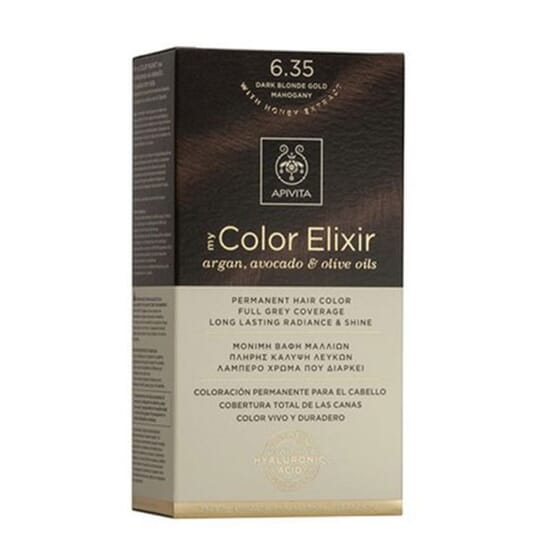 My Color Elisir N6.43 Dark Blonde Copper Gold 1 Ud de Apivita