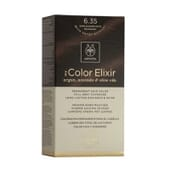 MY COLOR ELIXIR N6.35 DARK BLONDE GOLD MAHOGANY 1Un da Apivita