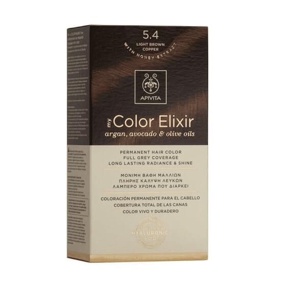 MY COLOR ELIXIR N5.4 LIGHT BROWN COPPER 1Un da Apivita