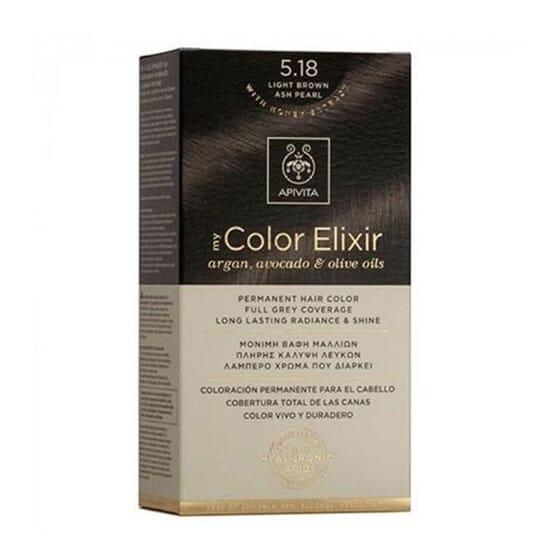 MY COLOR ELIXIR N5.18 LIGHT BROWN ASH PEARL 1Ud de Apivita