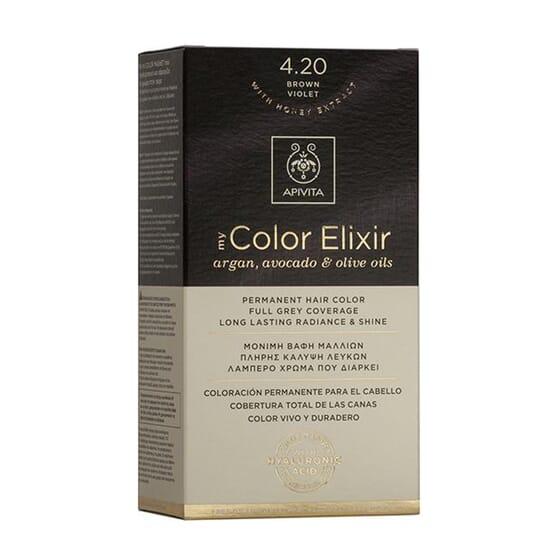 My Color Elisir N4.20 Brown Violet 1 Ud de Apivita