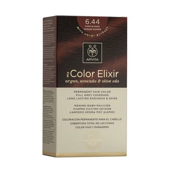 MY COLOR ELIXIR N6.44 DARK BLONDE INTENSE COPPER 1Ud de Apivita