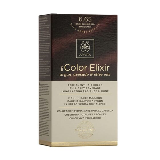 My Color Elisir N6.65 Dark Blonde Red Mahogany 1 Ud de Apivita