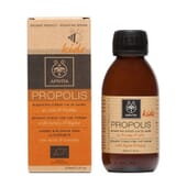 Propoli Sciroppo Biologico per la Gola Bambini 150 ml de Apivita