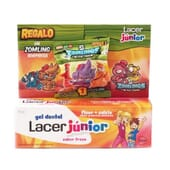 LACER JUNIOR GEL DENTIFRICE FRAISE 75 ml + ZOMLING OFFERT