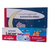 LACER ENFANTS GEL DENTAIRE FRAISE 75 ml + CONTE LA PETITE SOURIS