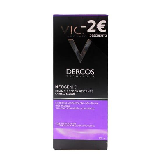 DERCOS NEOGENIC CHAMPU REDENSIFICANTE -2€ DESCUENTO 200 ml de Vichy