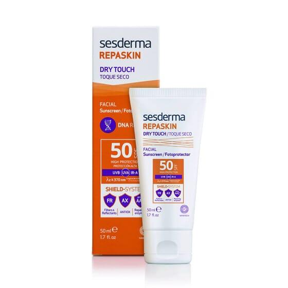 REPASKIN FOTOPROTECTOR FACIAL SPF50 TOQUE SECO 50 ml de Sesderma