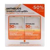ANTHELIOS SHAKA FLUIDO INVISIBLE SPF50+ 2 Uds 50ml de La Roche Posay