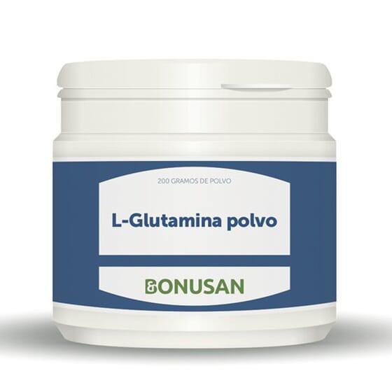 L-GLUTAMINA POLVO 200g de Bonusan.