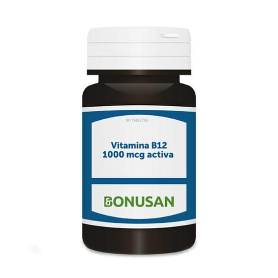 Vitamina B12 1000mcg Ativa 90 Tabs da Bonusan