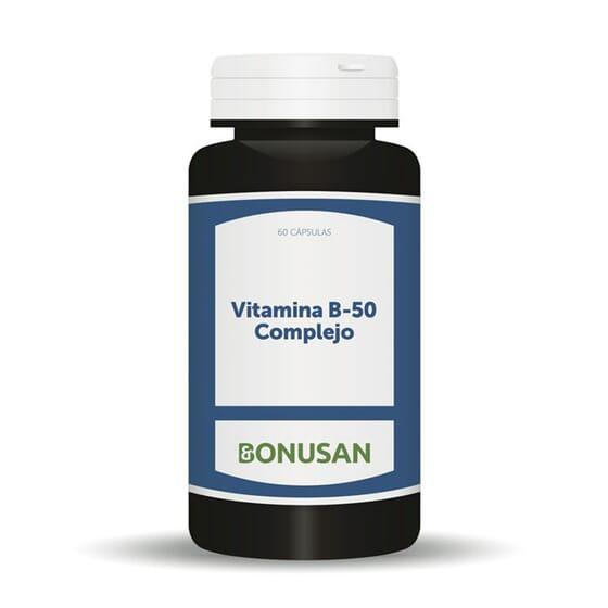 VITAMINA B-50 COMPLEJO ACTIVO 60 VCaps de Bonusan.