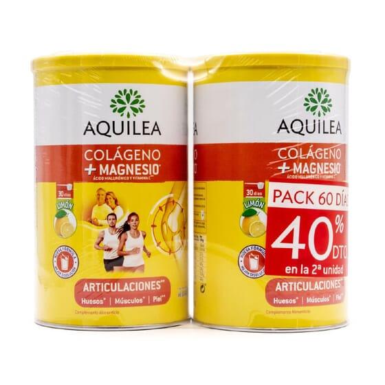 AQUILEA ARTICULACIONES COLÁGENO + MAGNESIO PACK 60 DÍAS 375g
