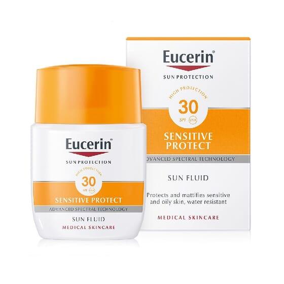 EUCERIN SUN FLUIDO SENSITIVE PROTECTOR MATIFICANTE SPF30 50ml