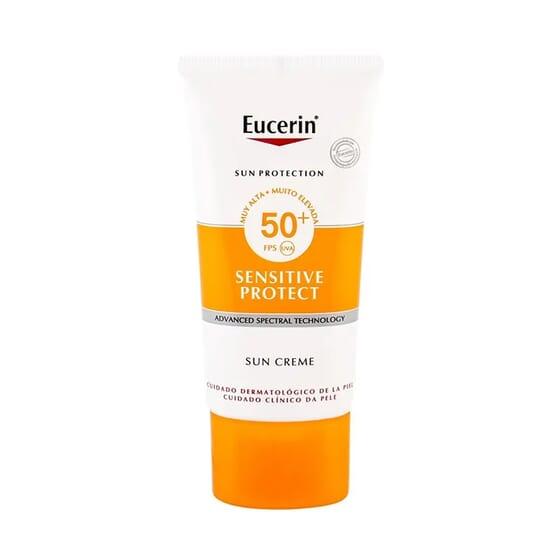EUCERIN SUN CREME SENSITIVE PROTETOR SPF50+ 50ml
