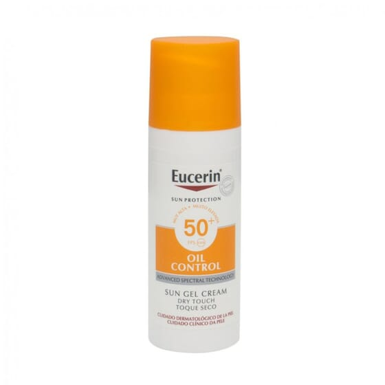 EUCERIN SUN GEL CREMA OIL CONTROL DRY TOUCH SPF50+ 50ml