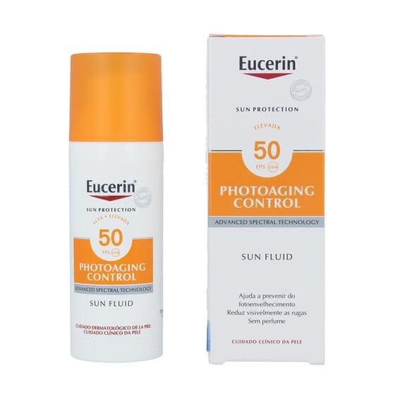 EUCERIN SUN FLUIDO PHOTOAGING CONTROL SPF50 50ml