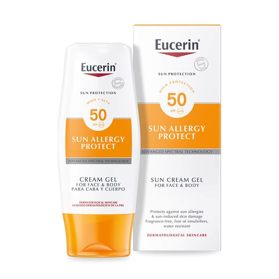 EUCERIN SUN ALLERGY PROTECTION CREMA-GEL SPF50 150ml