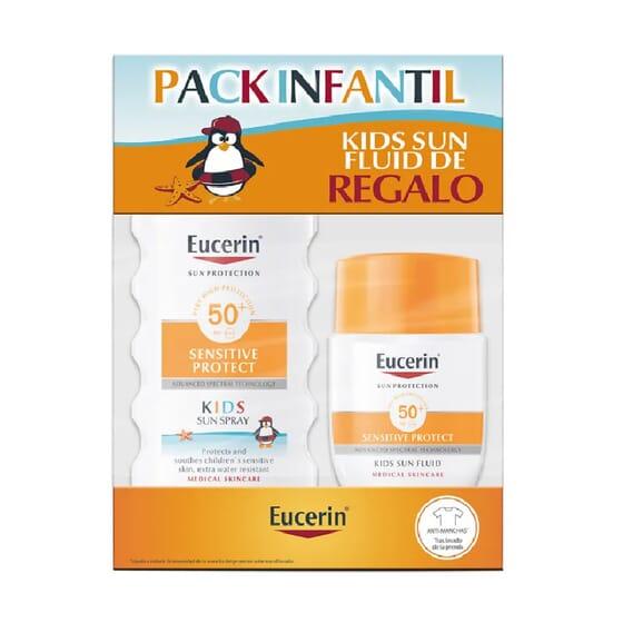 EUCERIN SUN SPRAY INFANTIL SPF50+ 200ml + POCKET SIZE