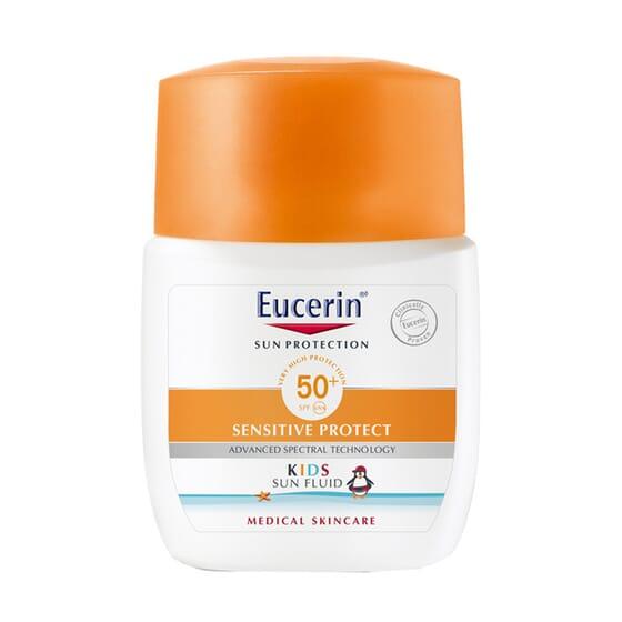 EUCERIN KIDS SUN FLUIDO INFANTIL SPF50+ 50ml.