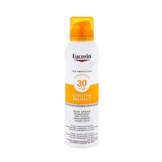 EUCERIN SUN SPRAY TRANSPARENTE TOQUE SECO SPF30 200ml