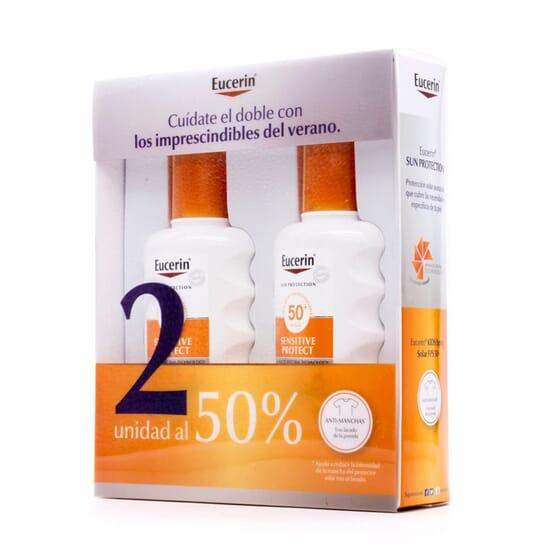 EUCERIN SUN SPRAY INFANTIL SENSITIVE PROTECT SPF50+ 2ªUN 50% DESC 200ml