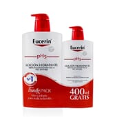 EUCERIN PH5 LOCION HIDRATANTE + GRATIS de Eucerin
