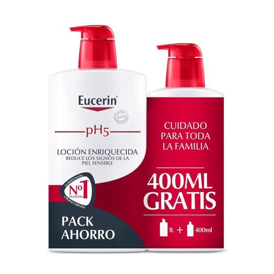 EUCERIN PH5 SKIN PROTECTION LOCIÓN ENRIQUECIDA 1L + 400ml GRATIS 1 Pack