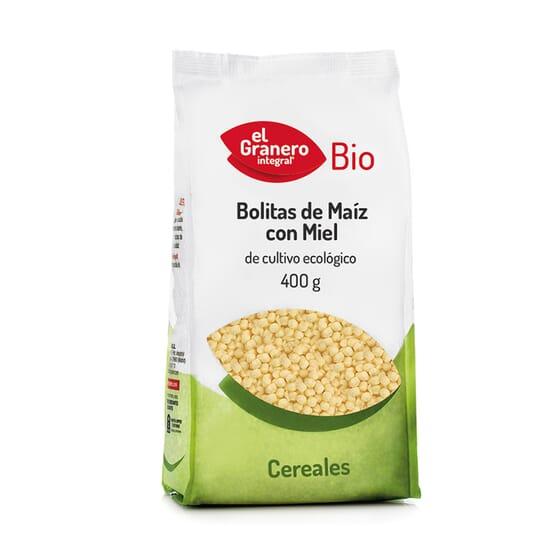 Bolinhas de Milho com Mel Bio 400g de El Granero Integral