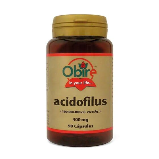 Acidophilus 400mg 90 Caps da Obire