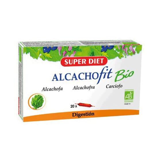 ALCACHOFIT BIO 20 Ampollas de 15ml de Super Diet.
