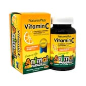 Animal Parade Vitamin C Chewable 90 Tabs de Natures Plus