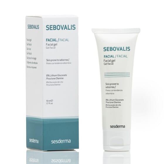 SEBOVALIS GEL FACIAL 50 ml de Sesderma