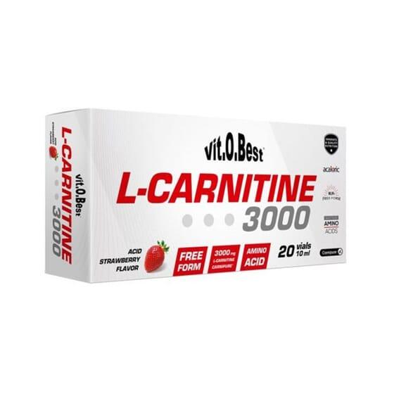 L-Carnitine 3000 20 x 10 ml da Vitobest