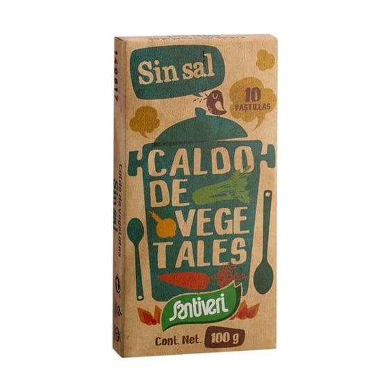 Cubos Caldo de Legumes Sem Sal 100g da Santiveri