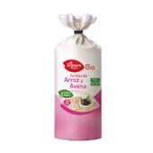 Tortitas de Arroz y Avena Bio 115 g de El Granero Integral