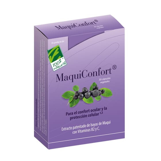Maquiconfort 30 VCaps de Cien Por Cien Natural