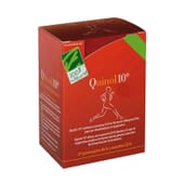 QUINOL 10 UBIQUINOL 100 mg 30 Caps de Cien por Cien Natural.