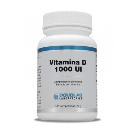 Vitamina D3 1000 UI  100 Tabs da Douglas Laboratories