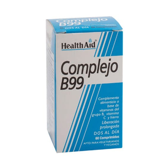 COMPLEJO B99 60 Tabs de Health Aid