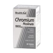 PICOLINATO DE CROMO 1800 mcg 60 Tabs da Health Aid.