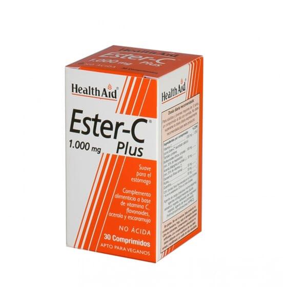 ESTER-C PLUS 1000MG 30 Tabs de Health Aid