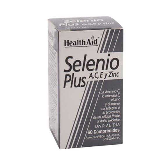 SELENIUM PLUS 60 Tabs de Health Aid