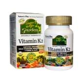 Garden Vitamin K2 60 VCaps da Natures Plus